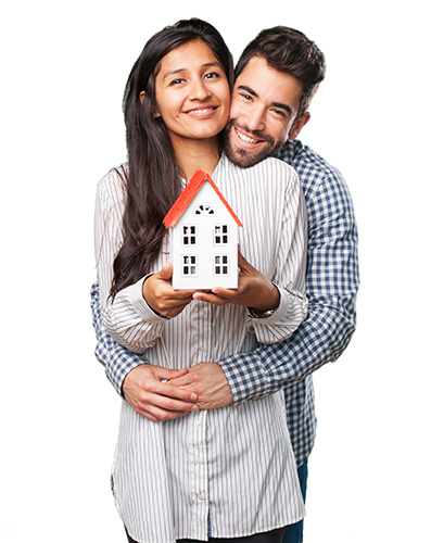 Home page mortgage couple